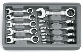 9520D by GEARWRENCH - SET WR RAT COMB STBY MET 10PC