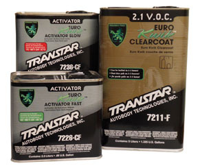 7211-F by TRANSTAR - Low V.O.C. 2.1 Euro Kwik Clearcoat