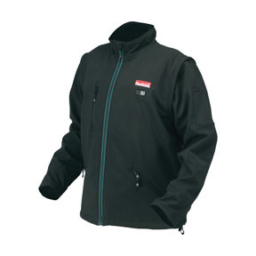 DCJ200Z2XL by MAKITA - 18V LXT® Lithium-Ion Cordless Black Heated Jacket, XXL