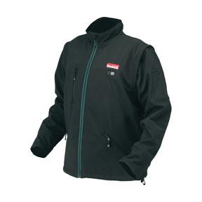 DCJ200ZM by MAKITA - 18V LXT® Lithium-Ion Cordless Black Heated Jacket, Medium