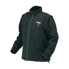 DCJ200ZS by MAKITA - 18V LXT® Lithium-Ion Cordless Black Heated Jacket, Small