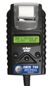 726 by ELECTRONIC SPECIALTIES - Digital Battery & Electrical System  Analyzer with Printer