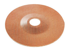 "555-CD by AES INDUSTRIES - 5"" Phenolic Back-up Plate - Carded"