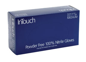 Q311-XL by ATLANTIC SAFETY PRODUCTS - InTouch™ Powder Free 100% Nitrile Exam Gloves, XL