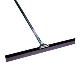 """49636C4 by BRUSKE PRODUCTS - Pack of 4, 36"""" Curved Squeegee with Handle"""