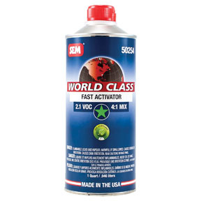 50254 by SEM PRODUCTS - WORLD CLASS - 2.1 VOC Fast Activator