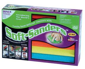"""703 by STYLE LINE - 11"""" Soft-Sanders Automotive Set, 6Pc"""