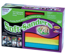 """704 by STYLE LINE - 16"""" Soft-Sanders Automotive Set, 6Pc"""