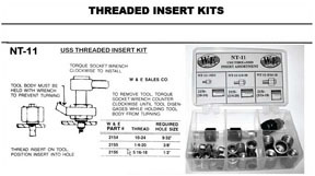 NT11 by W & E SALES CO., INC. - USS Threaded Insert Kit