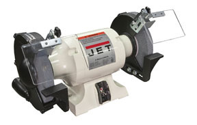 """577102 by WILTON - Bench Grinder, 1HP, Two 8""""x1"""" Wheels, Tool Rests, UL Listed"""