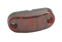 52612-3 by GROTE - Field Resalable Stainless Steel Light, Double Contact - Red (Bulk)