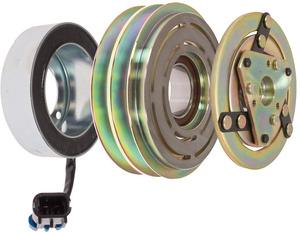 22-10222 by OMEGA ENVIRONMENTAL TECHNOLOGIES - CLUTCH TM08-16 SPRING LEAF 12V 2A 125mm 2 WIRE
