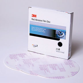 1103 by 3M - Red Abrasive Stikit™ Disc 6 in P1200 25 discs per box