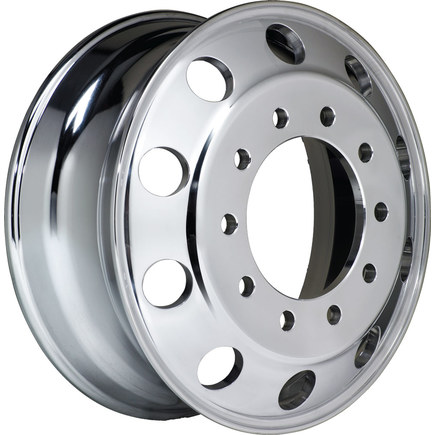 41644XP by ACCURIDE - 15° Tubeless Aluminum Wheel - 22.5 X 8.25 IP/OP 29644AIP 29644AOP