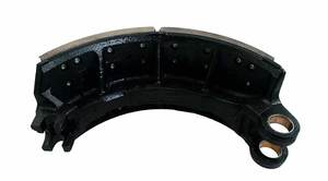 322201003A03 by AXLETECH - BRAKE SHOE, WITH BUSHING AND LINING