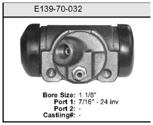 E13970032 by BENDIX - Wheel Cylinder