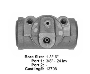 E13971018 by BENDIX - Wheel Cylinder