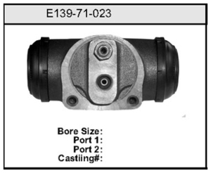 E13971023 by BENDIX - Wheel Cylinder