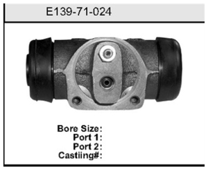 E13971024 by BENDIX - Wheel Cylinder