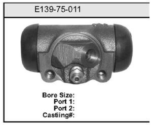 E13975011 by BENDIX - Wheel Cylinder
