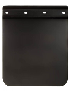 """CF25RL30PB by BETTS INDUSTRIES - 30"""" Unhanded Straight ChannelFlap Mud Flap"""