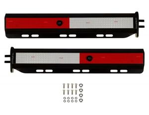B572525WTBK by BETTS SPRING - Straight Spring Loaded Mud Flap Hanger Kit