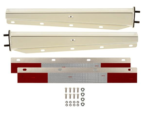 B703000RTCK by BETTS SPRING - Tapered Spring Loaded Mud Flap Hanger Kit