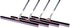 "49530C4 by BRUSKE PRODUCTS - Pack of 4 30"" Squeegee with Handle thumbnail 1 of 1"