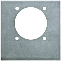801BP by BUYERS PRODUCTS - Plain Back Support Plate for B801 Series Rope Ring