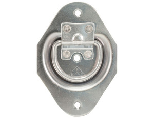 B601U by BUYERS PRODUCTS - Recessed Rope Ring Bracket For B601 Zinc Plated