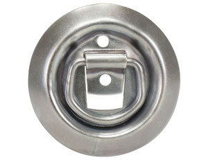 B701SM by BUYERS PRODUCTS - Surface Mounted Rope Ring Zinc Plated