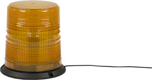 SL646ALP by BUYERS PRODUCTS - Amber 8 Flash LED Strobe Light, 12-24V