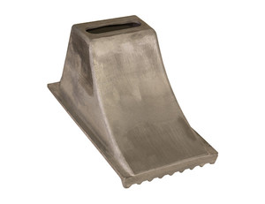 WC1588 by BUYERS PRODUCTS - Aluminum Wheel Chock 8.5x15x8.25 Inch