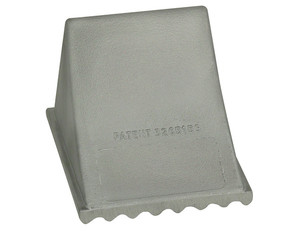 WC765 by BUYERS PRODUCTS - Aluminum Wheel Chock 6x7x5.25 Inch