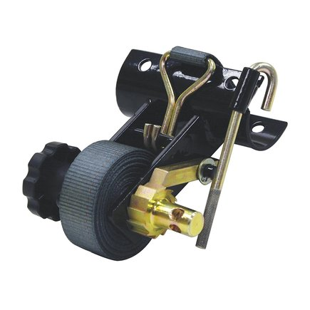 5480007 by BUYERS PRODUCTS - 1-1/2 Inch Ratchet Tie Downs for Round Tube Ladder Racks