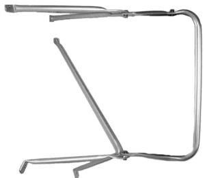 60699 by CHAM-CAL - Replacement Bracketry Only Kit, International S-Series, Aluminum (Fits LH or RH side)