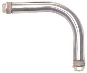 "70101 by CHAM-CAL - 4 1/2"" Offset Elbow Extension, Stainless Steel"