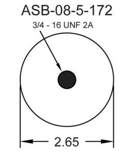 1S4-173 by CONTINENTAL - [FORMERLY GOODYEAR] Air Spring Sleeve