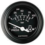 100174 by DATCON INSTRUMENT CO. - Pressure - Oil