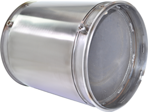 DC1-0037 by DENSO POWEREDGE - PowerEdge Diesel Particulate Filter - DPF for Cummins ISX (Including Gaskets)