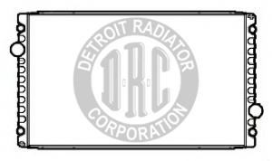 IN8143 by DETROIT RADIATOR CORP - RADIATOR for International