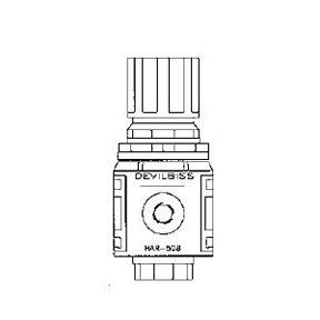 HAR508 by DEVILBISS - AIR VISOR REGULATOR