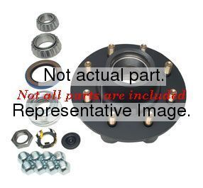 006-191-00 by DEXTER AXLE - Spindle Nut Non-Castlated