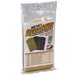 93889 by DYNABRADE - Dynamitt Abrasive Sheets (In clear hanger pkg.)