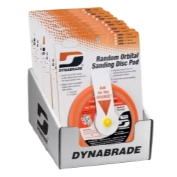"95996 by DYNABRADE - 6"" Sanding Pad Counter Display (Non-Vacuum)"