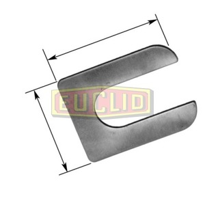 E8806 by EUCLID - AXLE CONNECTION PARTS - SHIM