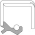 415295 by FEDERAL MOGUL-NATIONAL SEALS - Oil Seal                       thumbnail 2 of 2