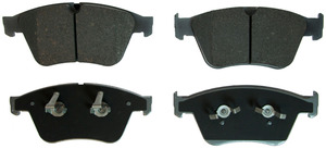 MX1271 by FEDERAL MOGUL-WAGNER - ThermoQuiet Semi-Metallic Disc Brake Pad Set