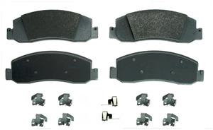 MX1333A by FEDERAL MOGUL-WAGNER - ThermoQuiet Semi-Metallic Disc Brake Pad Set