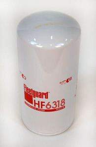 HF6318 by FLEETGUARD - Hydraulic, Spin-On Filter